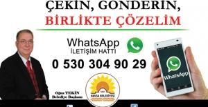 """Havsa Belediyesi'nde """"Whatsapp İletişim Hattı"""" Dönemi Başladı"""