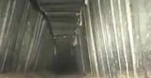 İsrail 'Terör Tüneli' İddiasıyla Gazze'yi Vurdu