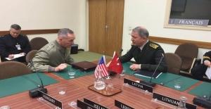 Orgeneral Akar, ABD Genelkurmay Başkanı İle Görüştü