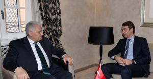Başbakan Yıldırım Yunanistan YDP Genel Başkanı Mitsotakis'i Kabul Etti