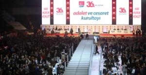 CHP'nin 36. Olağan Kurultayında Yönetim Seçilecek
