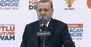 Cumhurbaşkanı Erdoğan: Ülkemizin Bekasına Halel Getirecek Bir Adımın Atılmasına Kesinlikle İzin Vermeyiz