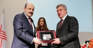 Makedonya Cumhurbaşkanı Ivanov YÖK'ü Ziyaret Etti