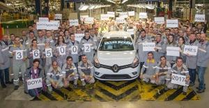 Oyak Renault 2017'de 365 Bin Otomobil Üretti