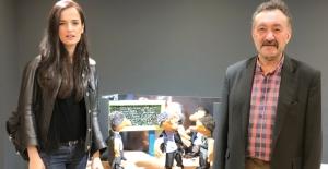 Oyuncu Selin Demiratar'dan Usta Yönetmen Ve Yazar Reha Bilgen'e Anlamlı Ziyaret