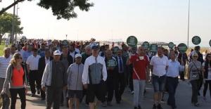 Bakırköy'de 'Spor Diyabeti Yener' Yürüyüşü