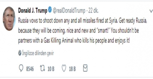 Donald Trump: Rusya Hazır Ol, Füzeler Geliyor