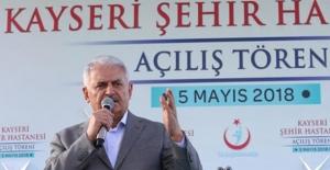 Başbakan Yıldırım: Sağlıkta Dönüşümü AK Parti Gerçekleştirdi