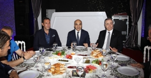 GS Başkanı Cengiz, Bakırköy Belediye Başkanı Kerimoğlu İle İftar Yemeğinde