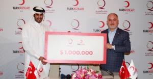 Kızılay Ve Katar Hayır Kurumu'ndan Yemen'e 1 Milyon Dolarlık Bağış