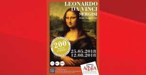 "Leonardo Da Vinci Sergisi"" Antalyada..."