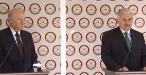 Yıldırım Ve Bahçeli Cumhur İttifakı'nın Ortak Adayı Cumhurbaşkanı Erdoğan İçin YSK'ya Başvurdu