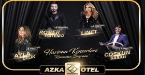 Azka Otel Muhteşem Konserlere Ev Sahipliği Yapıyor