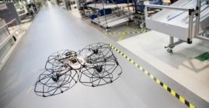 Çin Yüksek Katlı Bina Yangınları İçin Drone Geliştirdi