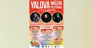 """Yalova, """"Müzik Festivali""""Ne Hazır!"""