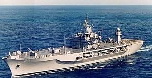 6. Filo'nun Amiral Gemisi Karadeniz'e Girdi