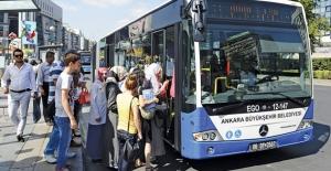 Ankara'da Ulaşım 15 Temmuz'da Ücretsiz Olacak