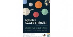 Atatürk Bilim Ve Eğitim Parkı'nda Yeni Bir Astronomi Etkinliği