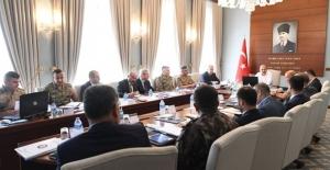 Bakan Soylu Afrin'deki Çalışmalara İlişkin Bilgi Aldı