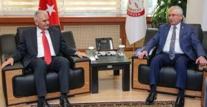 Başbakan Yıldırım'dan YSK Ziyareti