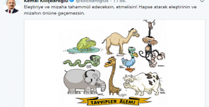 Kılıçdaroğlundan Karikatür...