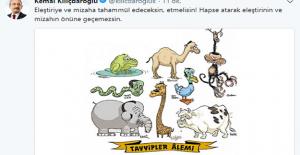 Kılıçdaroğlundan Karikatür...