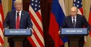 Trump Ve Putin'den Görüşme Sonrası Ortak Basın Toplantısı