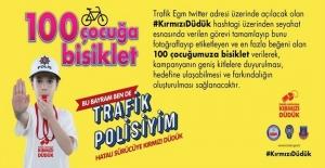 EGM 100 Çocuğa Bisiklet Verecek