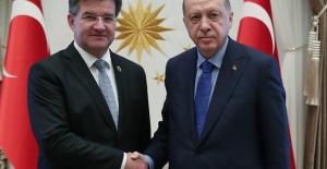 Cumhurbaşkanı Erdoğan Lajcak'ı Kabul Etti