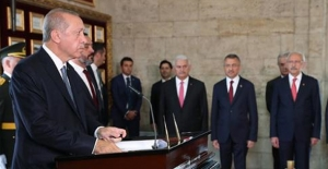 Erdoğan: Son Zamanlarda Artan Tehditler Bizi Hedeflerimizden Alıkoyamayacak