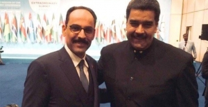 Kalın'dan Maduro'ya Destek Tweeti