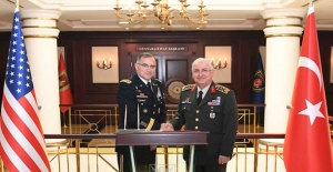 Orgeneral Güler'i ABD Avrupa Kuvvetleri Komutanı Ziyaret Etti