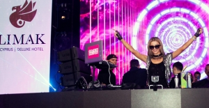Paris Hilton, Limak Cyprus'ta Verdiği Partide Ada'yı Salladı