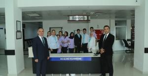 Beypazarı Belediyesi'nden Devlet Hastanesine Hasta Karşılama Personeli Desteği