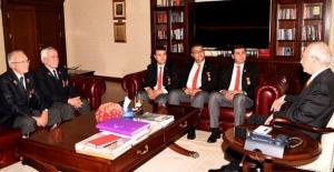 Gaziler, Şehit Dul Ve Yetimleri Derneği'nden Kılıçdaroğlu'na Ziyaret