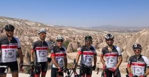 Marmaris'in İlk Yol Bisikleti Takımı Kapadokya'da Yarıştı
