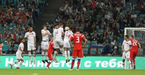 A Millilerimiz Rusya'ya 2-0 Mağlup Oldu