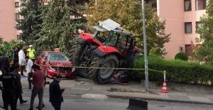 Başkentte Traktör Alarmı