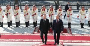 Cumhurbaşkanı Erdoğan, Moldova Cumhurbaşkanlığı Sarayında