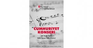"""Hacettepe Senfoni Orkestrası, Sezonu """"Cumhuriyet Konseri""""yle Açıyor"""