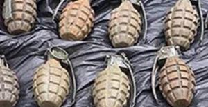 Şırnak'ta 16 Adet El Bombası Ele Geçirildi