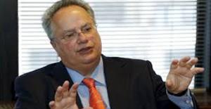 Yunanistan Dışişleri Bakanı Kotzias İstifa Etti
