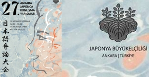 """""""27. Ankara Japonca Konuşma Yarışması"""" 18 Kasım'da"""