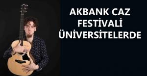 """28. Akbank Caz Festivali """"Kampüste Caz"""" İle Türkiye'yi Dolaşıyor"""
