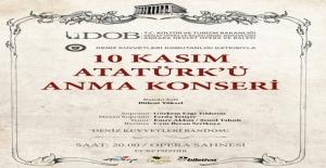 ADOB Ve Deniz Kuvvetleri Komutanlığı Atatürk'ü Anma Konseri
