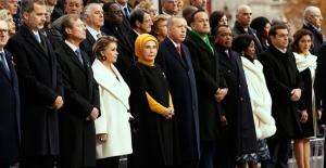 Cumhurbaşkanı Erdoğan, Birinci Dünya Savaşı'nı Sonlandıran Anlaşmanın 100. Yıl Dönümü Törenine Katıldı