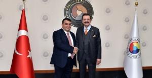 Kırşehir TSO'nun  Yönetim Kurulu Başkanlığına Mustafa Yılmaz Seçildi