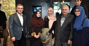 TBMM Başkanı Yıldırım Üsküdar Nevmekan Sahil'i Ziyaret Etti