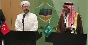 2019 Yılı Hac Protokolü Mekke'de İmzalandı