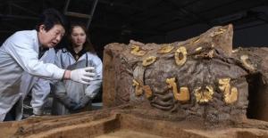 Çin'de Arkeologlar 2.500 Yıllık Bir Araba Kalıntısı Buldu